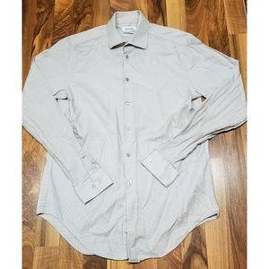 Calvin Klein Slim Fit Button Down Shirt. Brand New